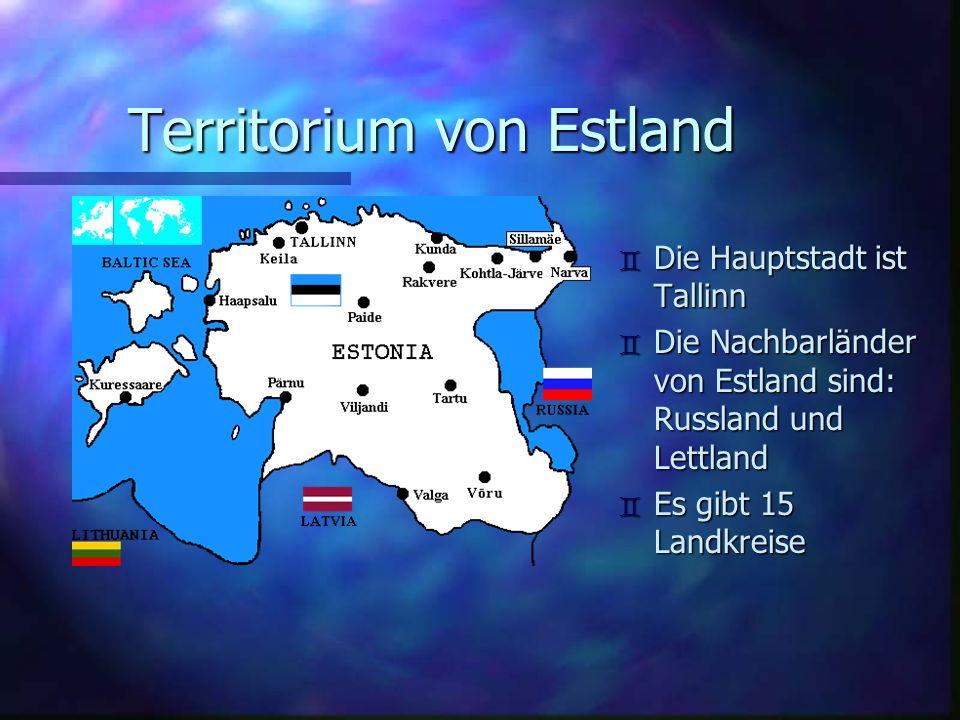 Territorium von Estland