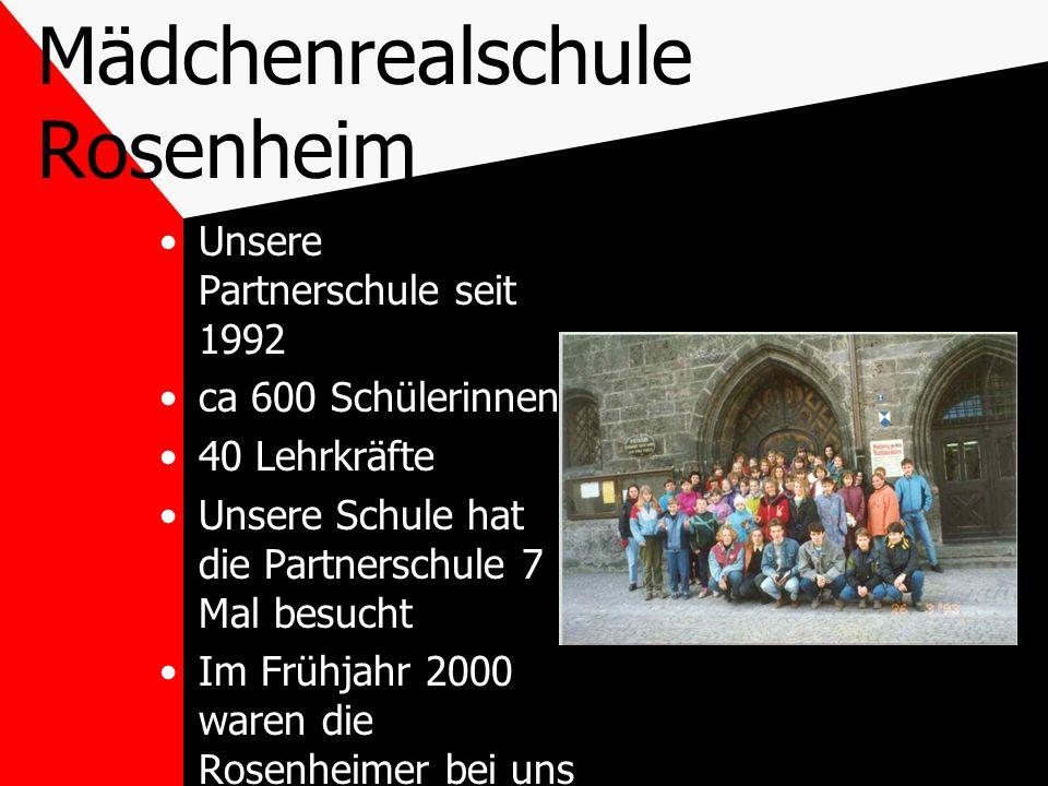 Mädchenrealschule Rosenheim