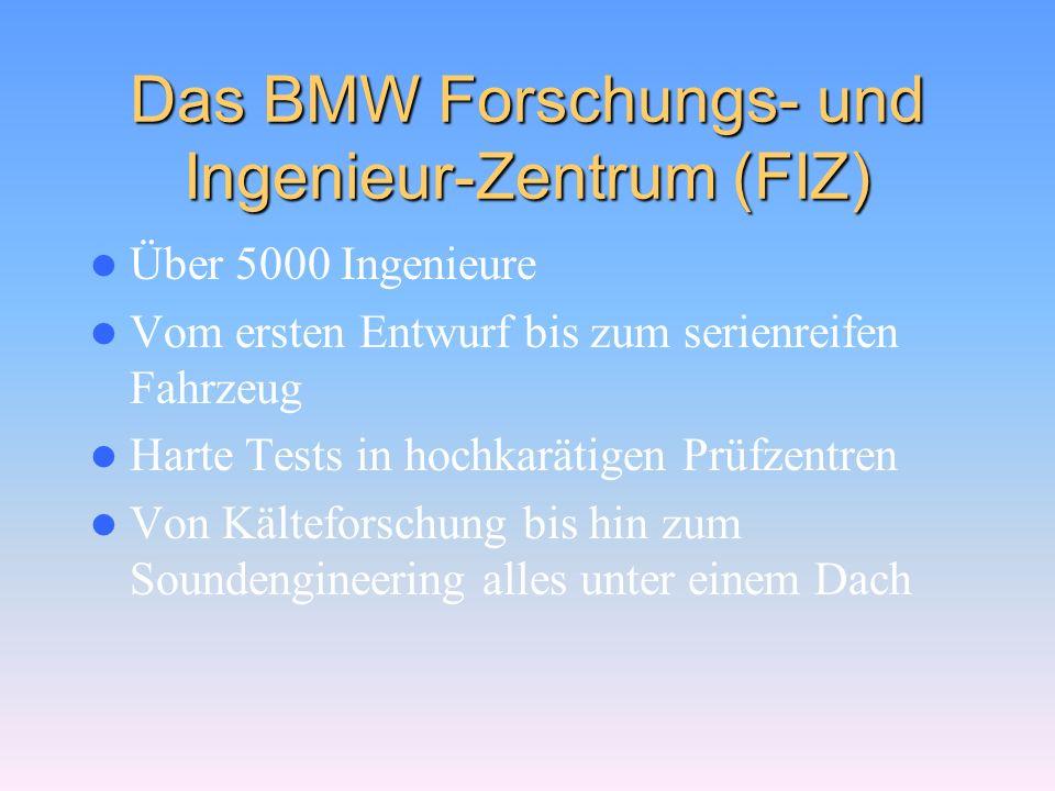 Das BMW Forschungs- und Ingenieur-Zentrum (FIZ)