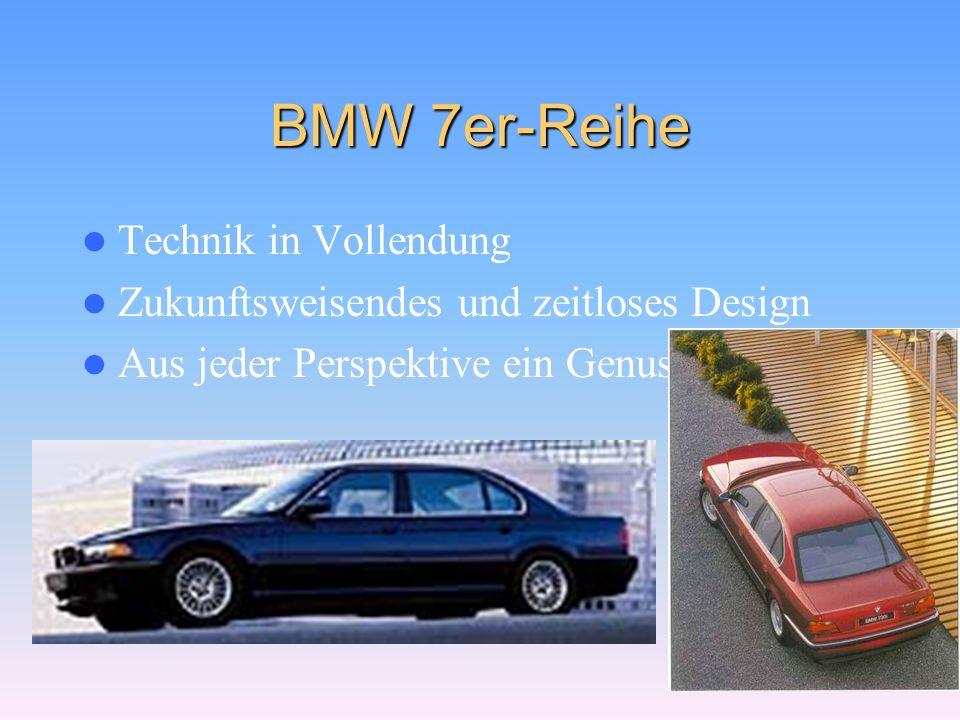 BMW 7er-Reihe Technik in Vollendung