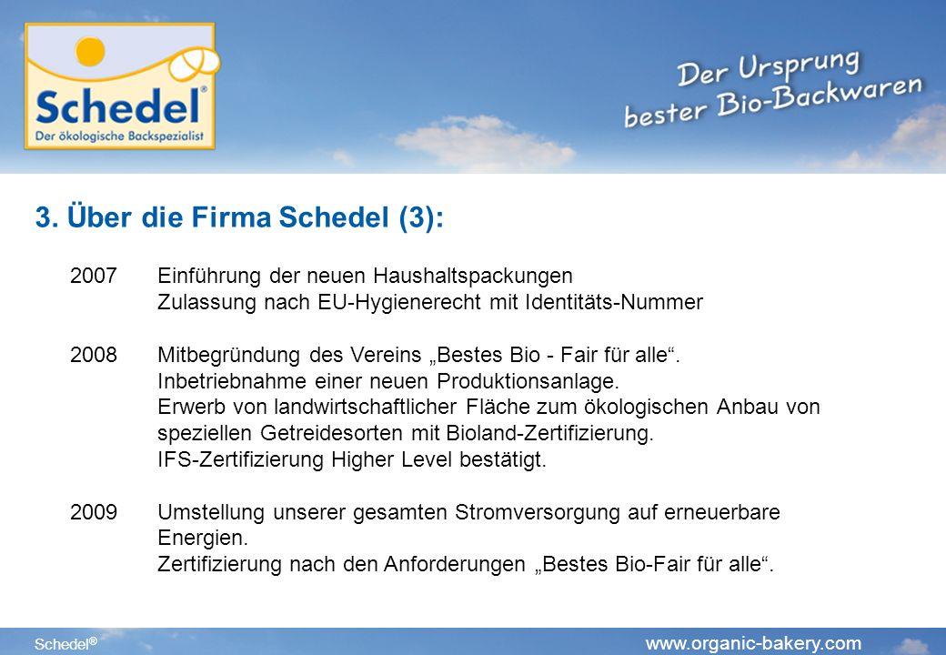 3. Über die Firma Schedel (3):