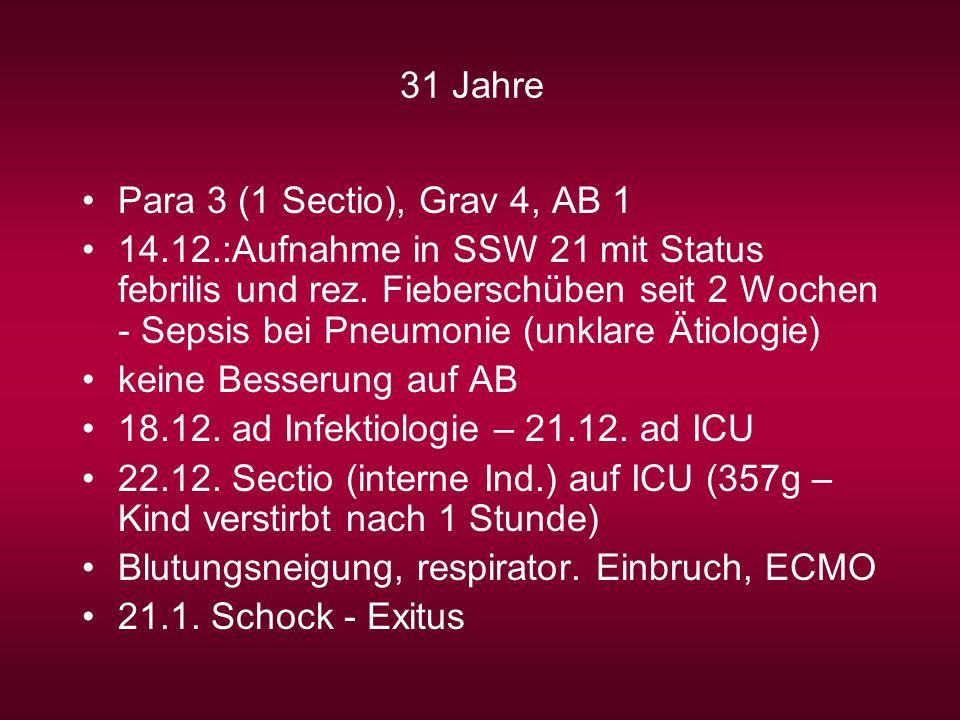 31 Jahre Para 3 (1 Sectio), Grav 4, AB 1.