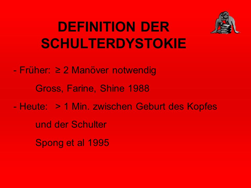 DEFINITION DER SCHULTERDYSTOKIE