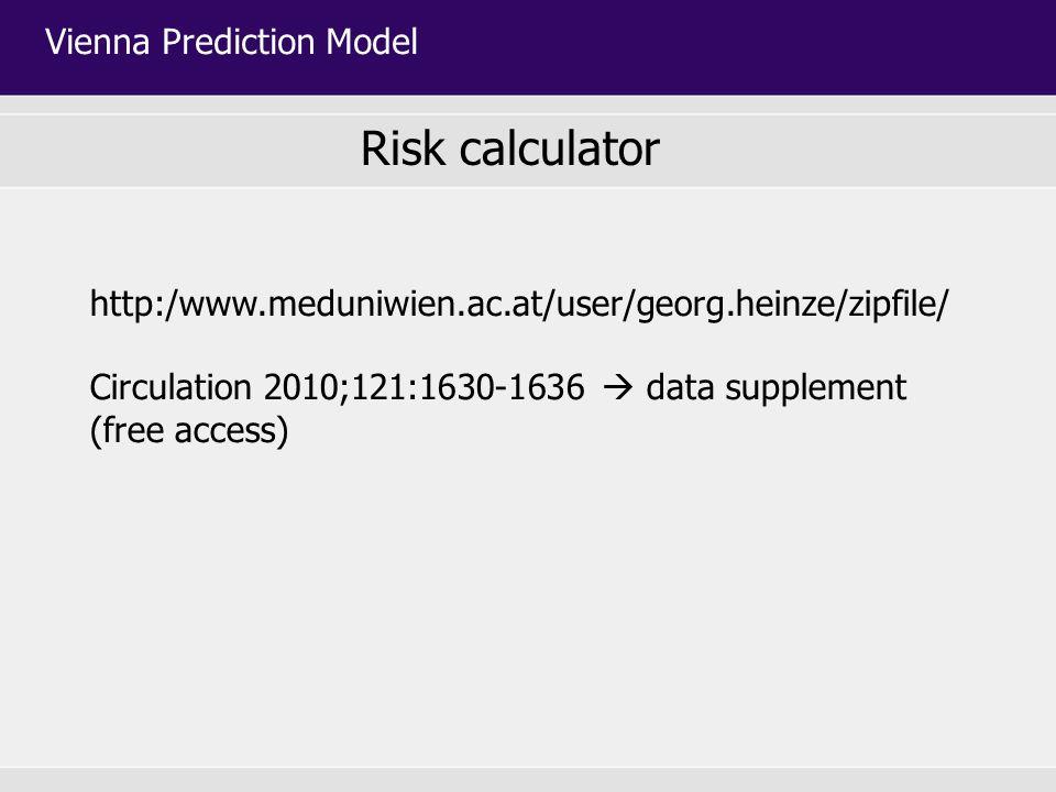 Vienna Prediction Model