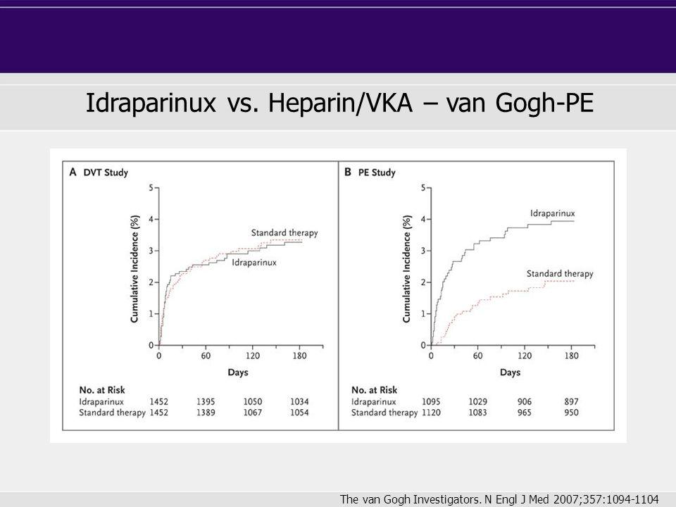 Idraparinux vs. Heparin/VKA – van Gogh-PE