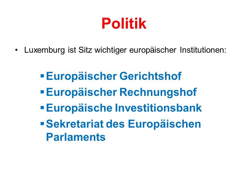 Politik Europäischer Gerichtshof Europäischer Rechnungshof