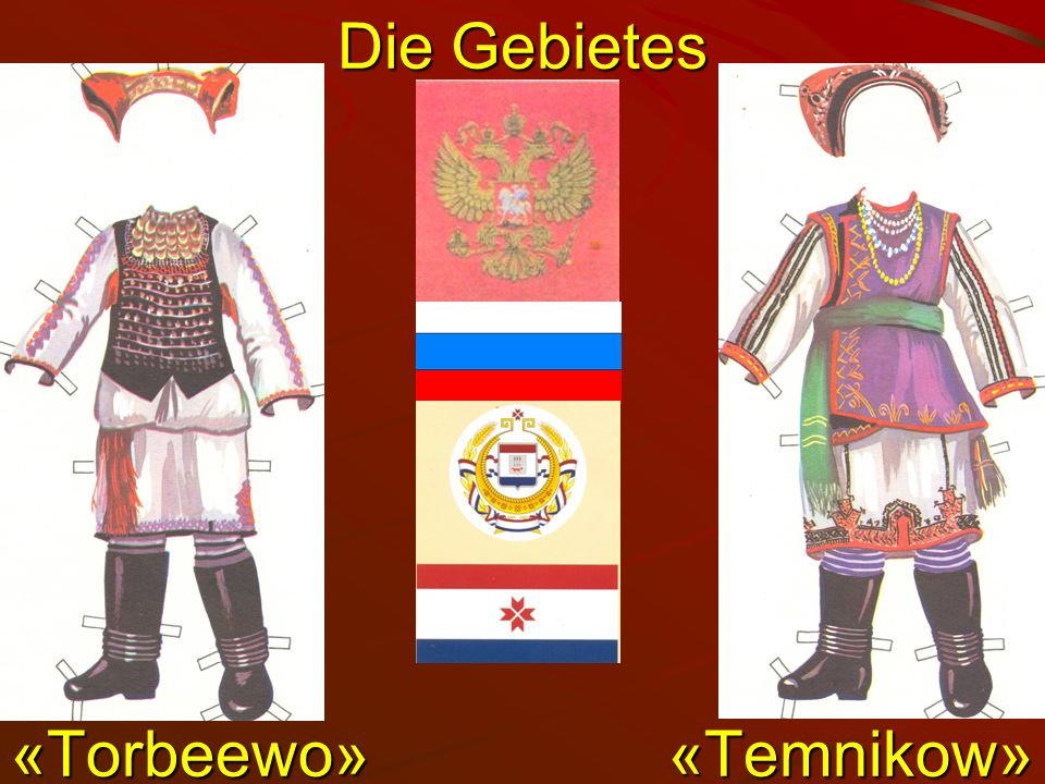 Die Gebietes «Torbeewо» «Temnikow»