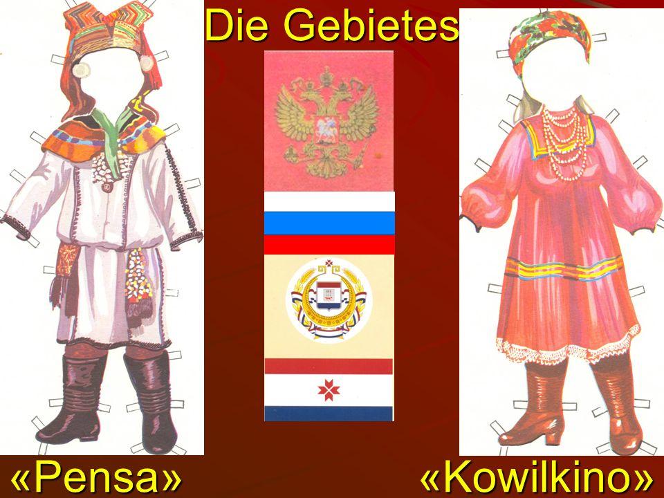 Die Gebietes «Pensa» «Kowilkinо»