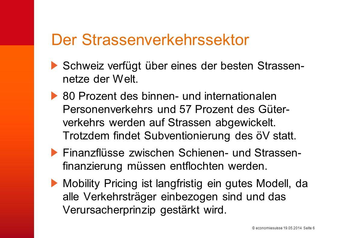 Verkehrsleistungen im Personen- und Güterverkehr