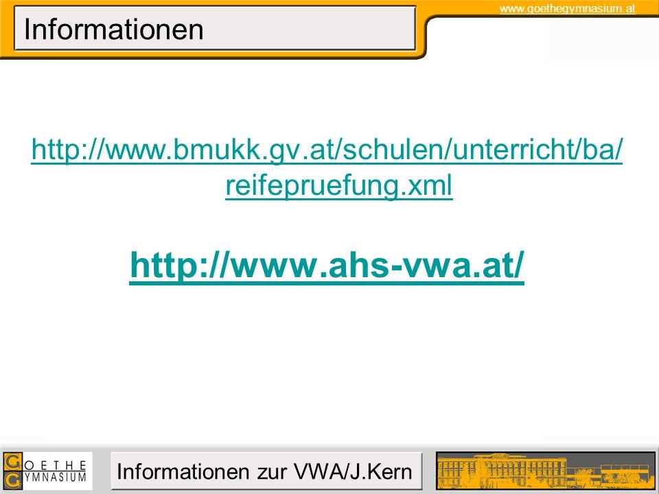 http://www.bmukk.gv.at/schulen/unterricht/ba/ reifepruefung.xml