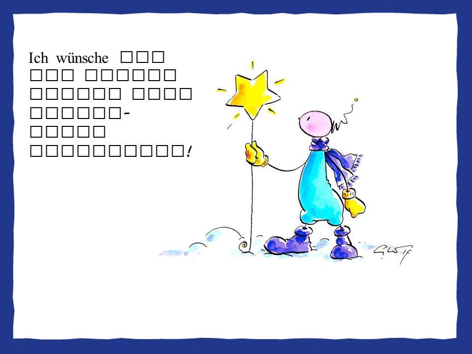 Ich wünsche Dir und Deinen Lieben eine WUNDER-volle Adventzeit!