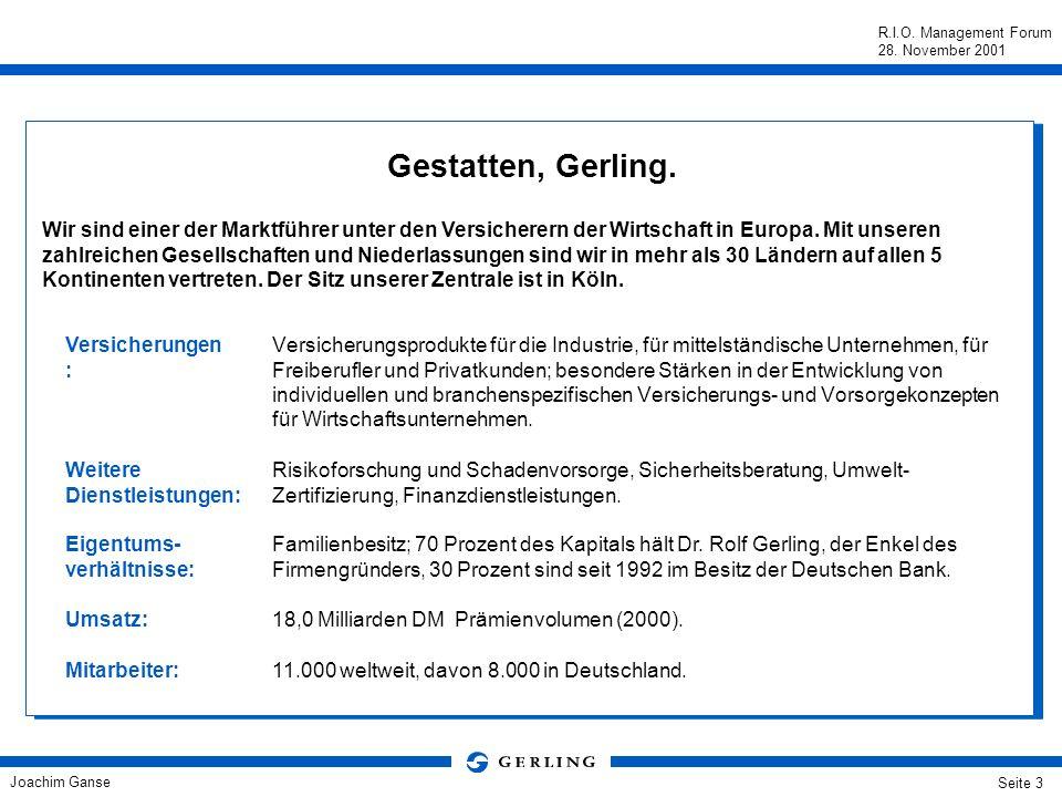 Gestatten, Gerling.