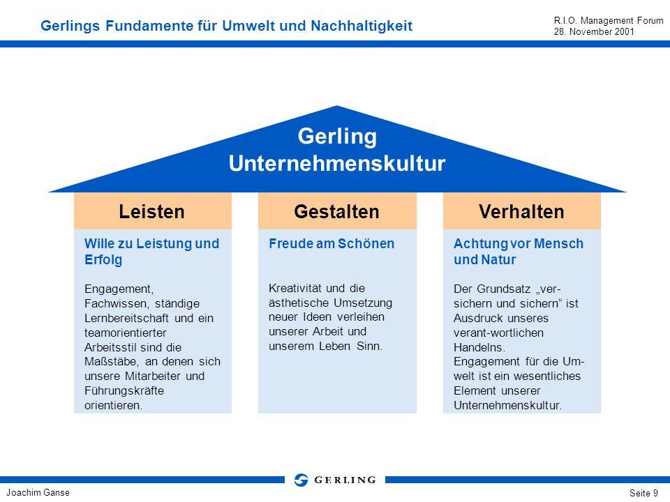 Gerling Unternehmenskultur