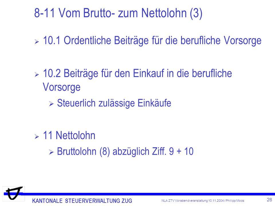8-11 Vom Brutto- zum Nettolohn (3)