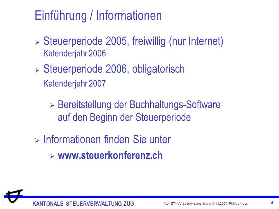 Einführung / Informationen