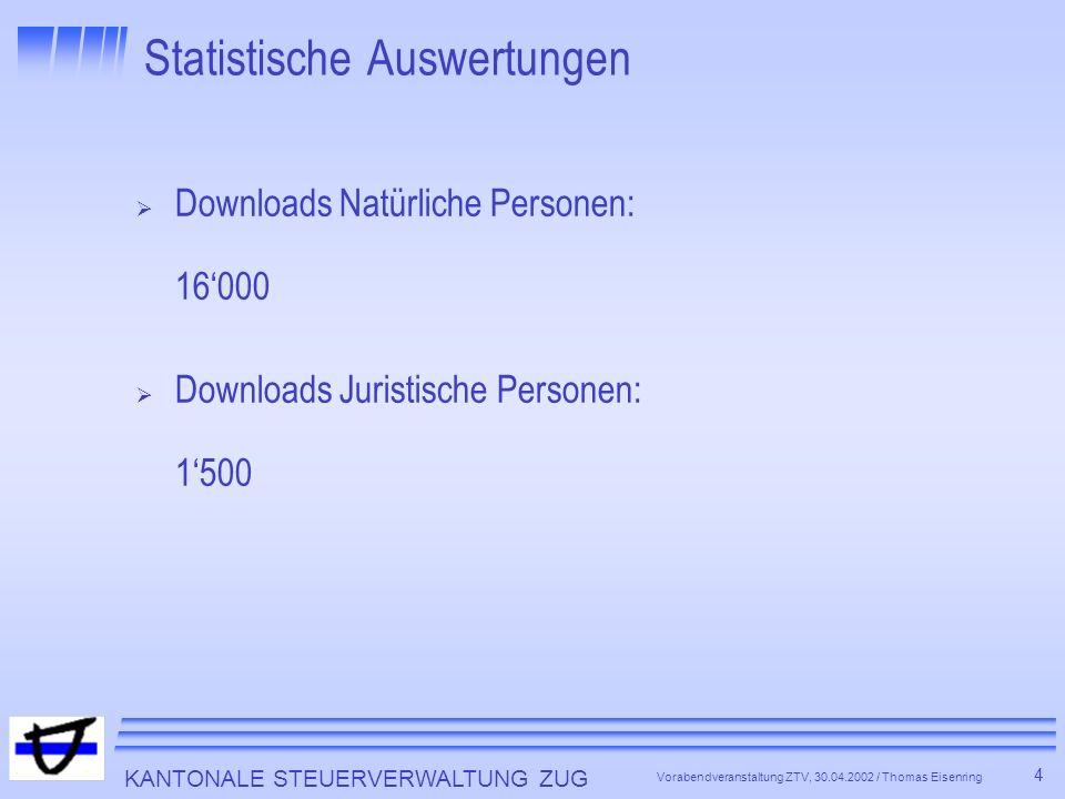 Statistische Auswertungen