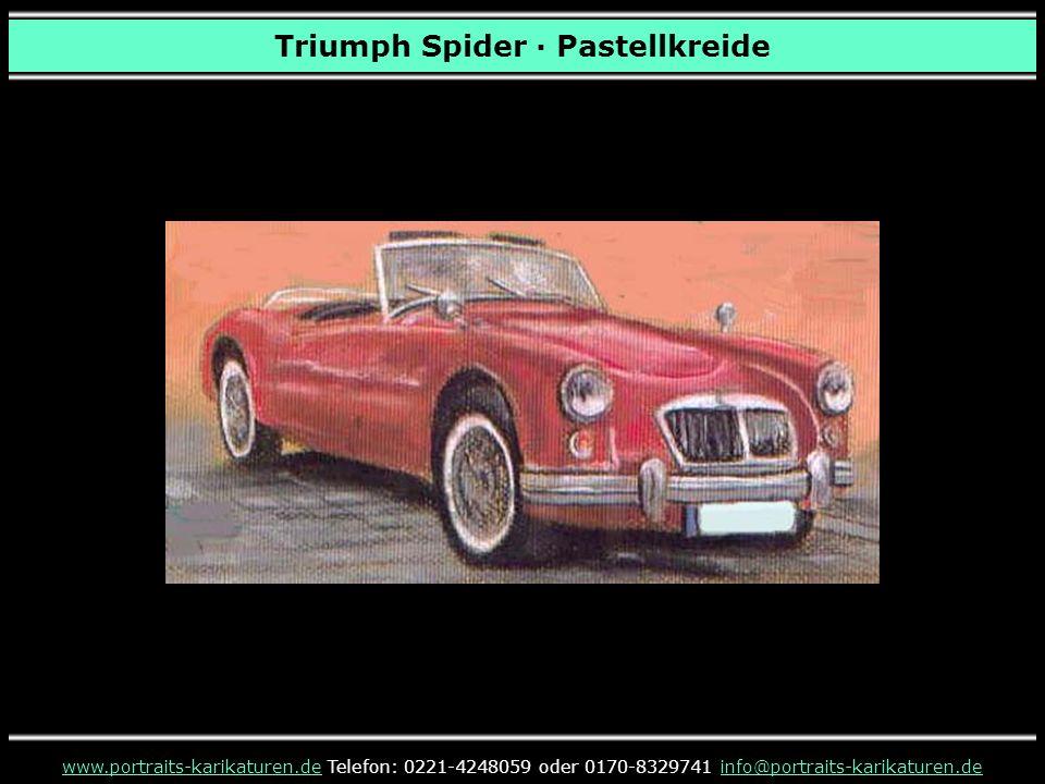Triumph Spider · Pastellkreide