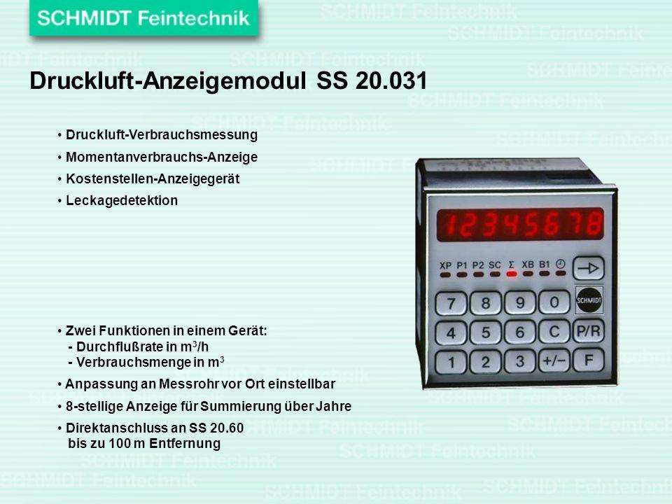 Druckluft-Anzeigemodul SS 20.031