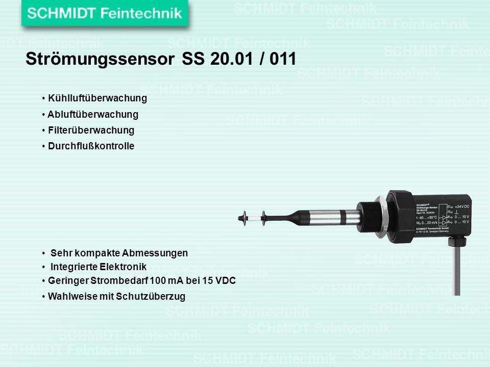 Strömungssensor SS 20.01 / 011 Kühlluftüberwachung Abluftüberwachung