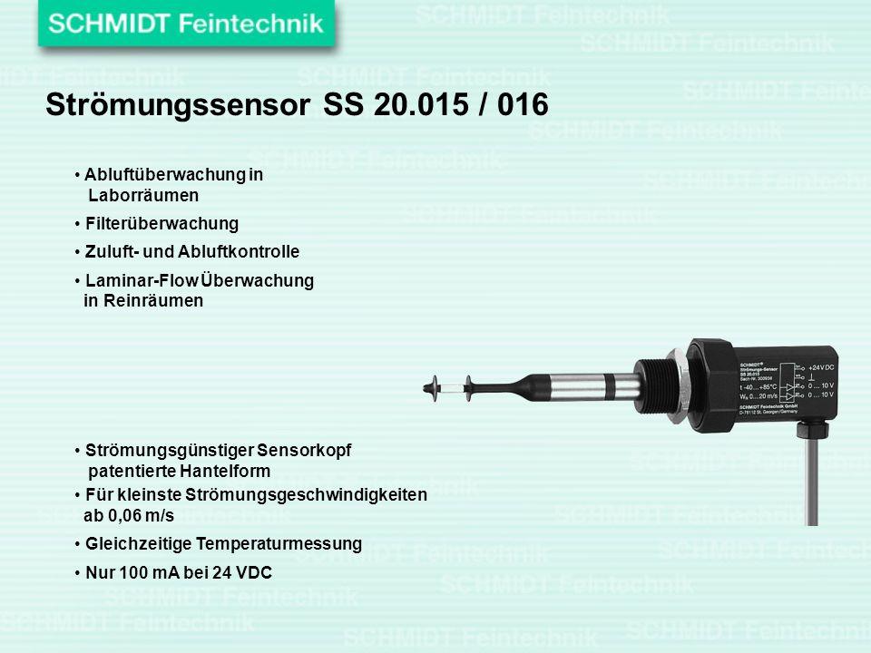Strömungssensor SS 20.015 / 016 Abluftüberwachung in Laborräumen