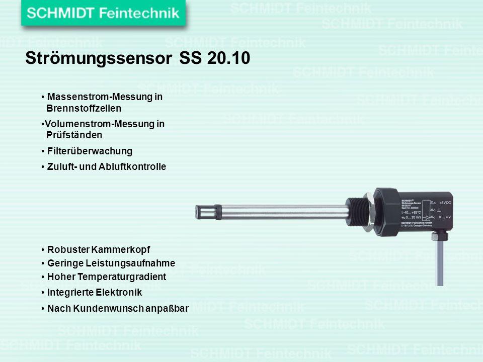 Strömungssensor SS 20.10 Massenstrom-Messung in Brennstoffzellen
