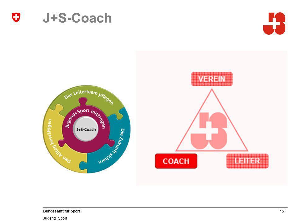 J+S-Coach J+S-Coachs …
