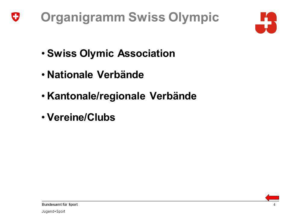 Organigramm Swiss Olympic