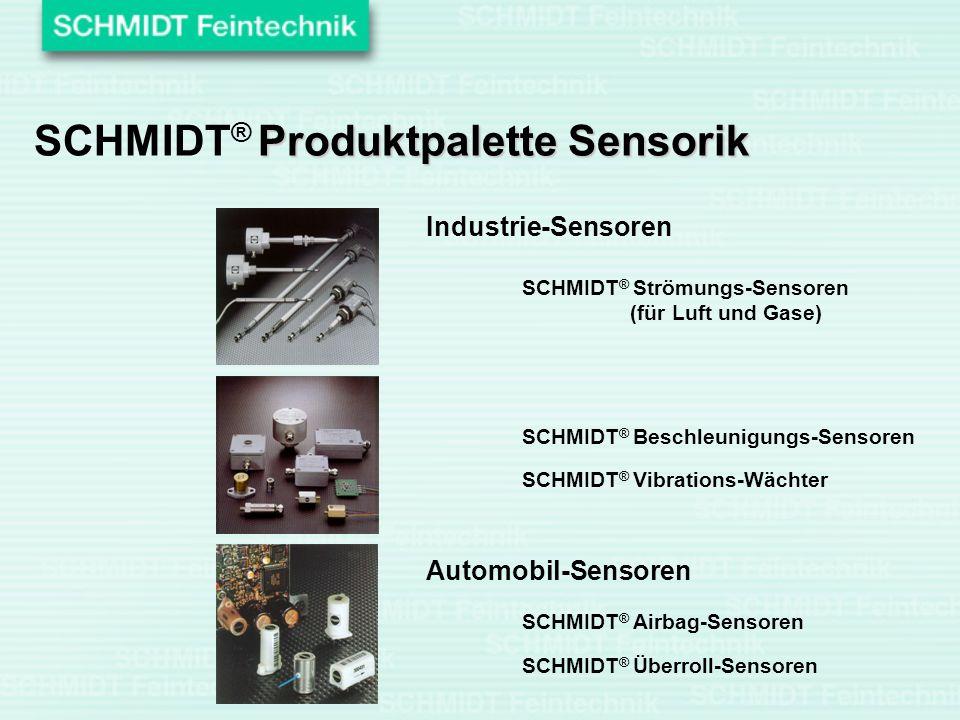 SCHMIDT® Produktpalette Sensorik