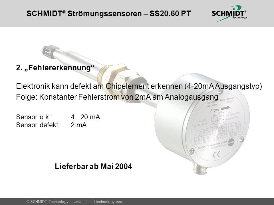 SCHMIDT® Strömungssensoren – SS20.60 PT
