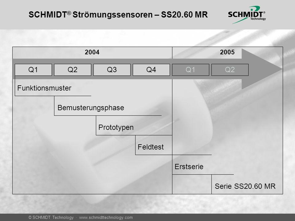 SCHMIDT® Strömungssensoren – SS20.60 MR
