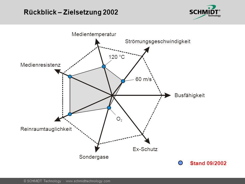 Rückblick – Zielsetzung 2002