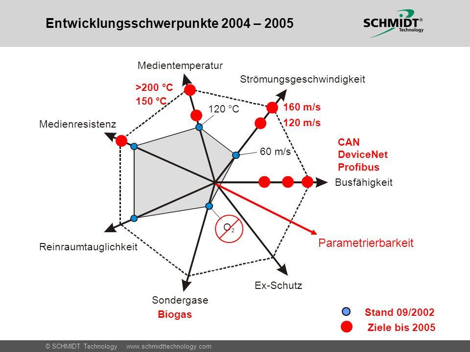 Entwicklungsschwerpunkte 2004 – 2005