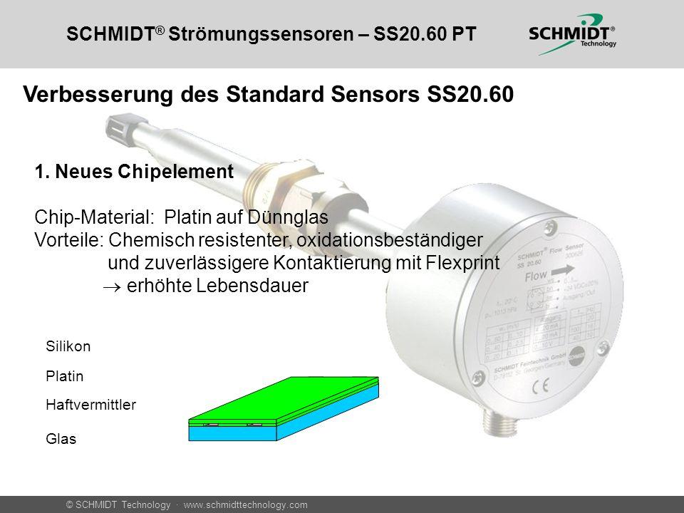 Verbesserung des Standard Sensors SS20.60
