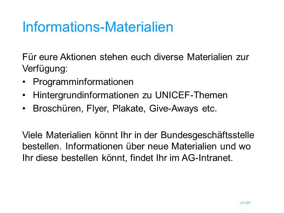 Informations-Materialien