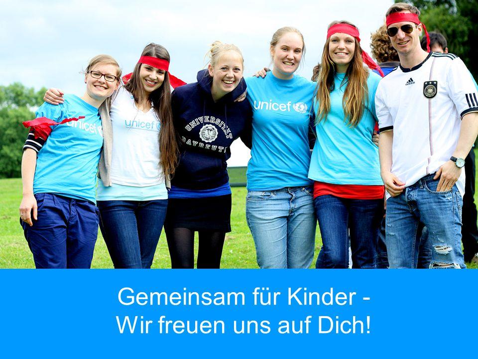 Gemeinsam für Kinder - Wir freuen uns auf Dich!