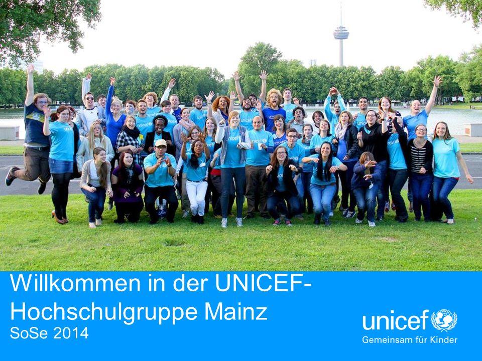 Willkommen in der UNICEF-Hochschulgruppe Mainz