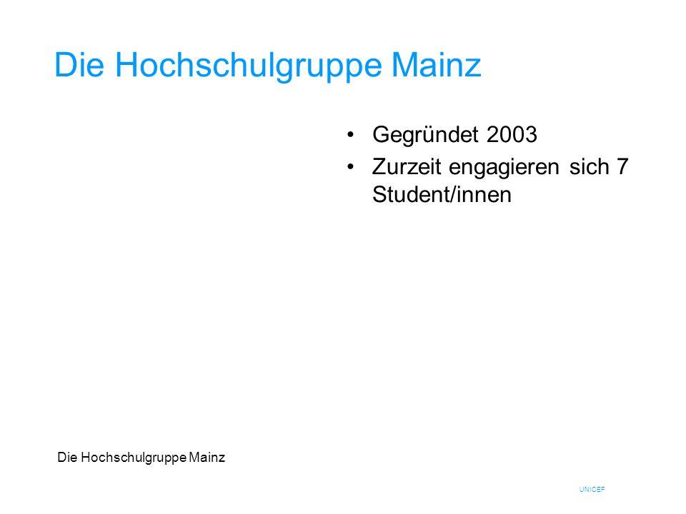 Die Hochschulgruppe Mainz