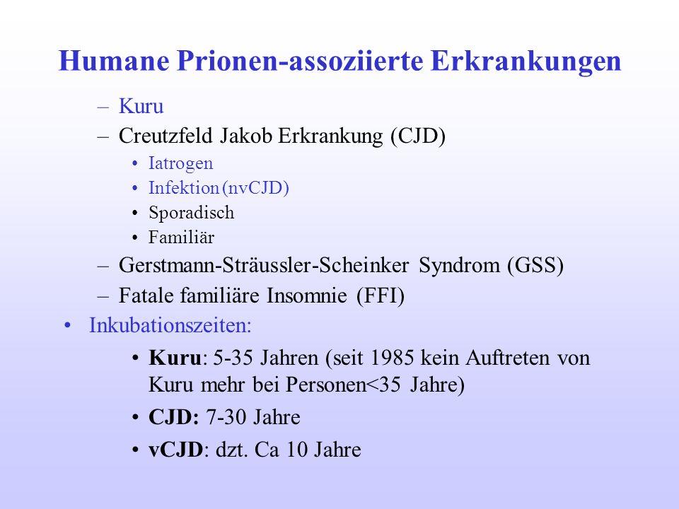 Humane Prionen-assoziierte Erkrankungen