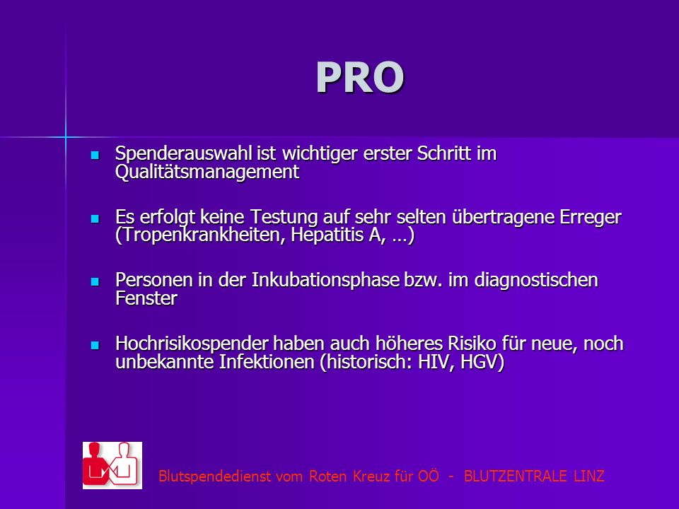 PRO Spenderauswahl ist wichtiger erster Schritt im Qualitätsmanagement