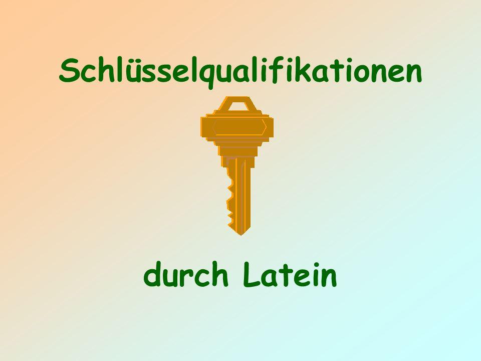 Schlüsselqualifikationen