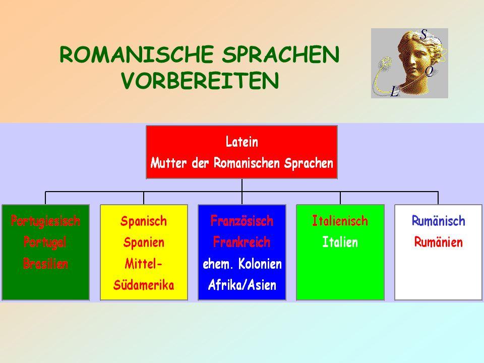 ROMANISCHE SPRACHEN VORBEREITEN