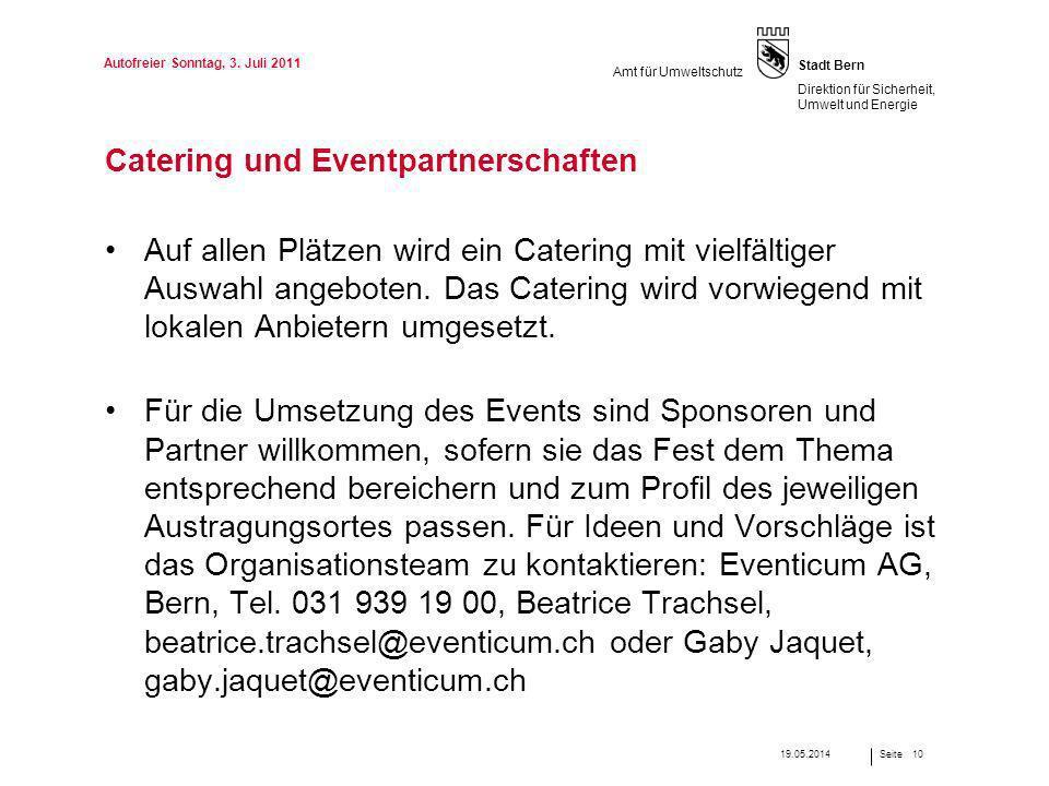 Catering und Eventpartnerschaften