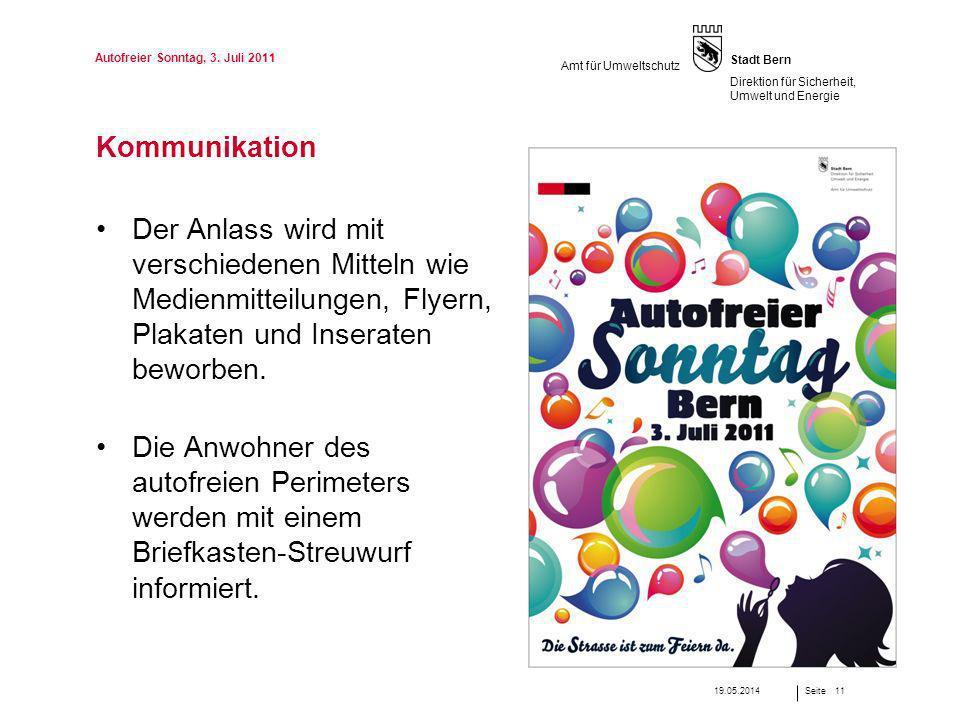 Autofreier Sonntag, 3. Juli 2011