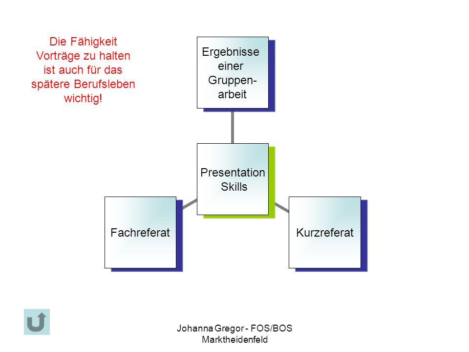 Johanna Gregor - FOS/BOS Marktheidenfeld