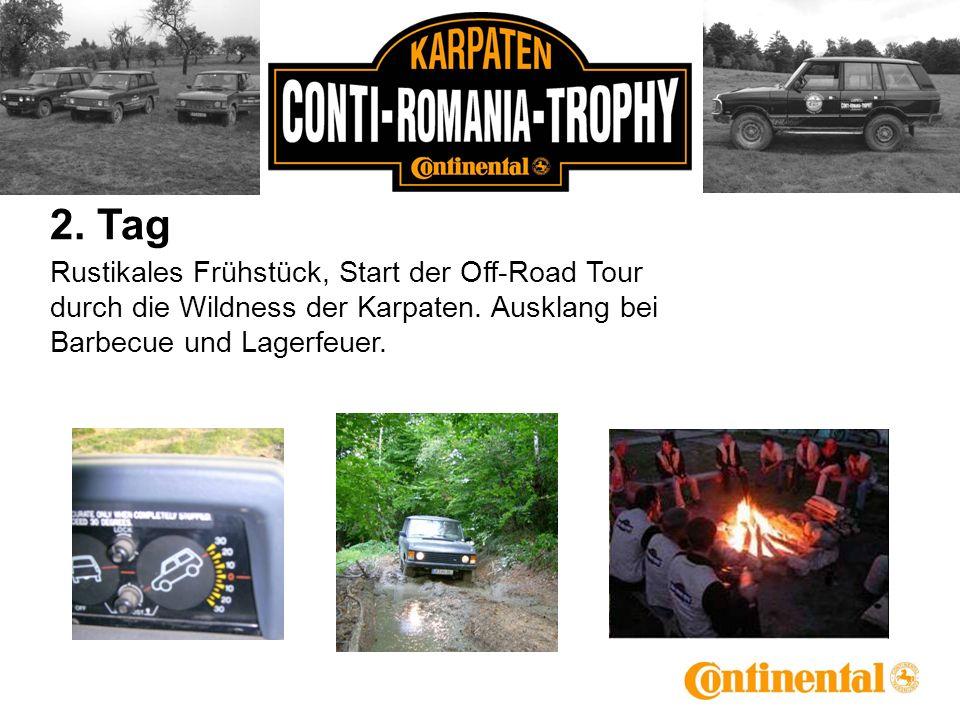 2. Tag Rustikales Frühstück, Start der Off-Road Tour durch die Wildness der Karpaten.