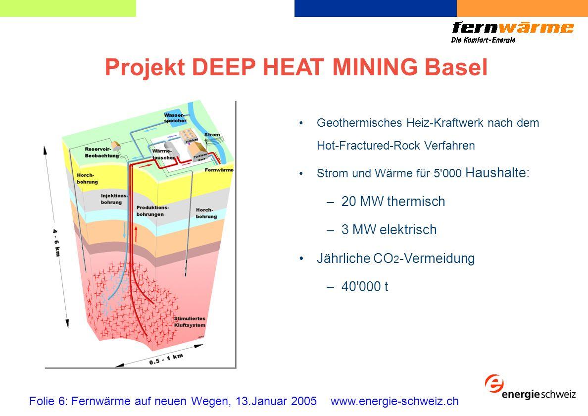 Projekt DEEP HEAT MINING Basel