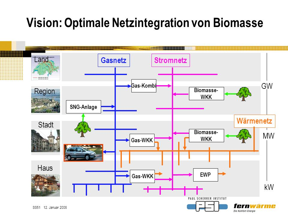 Vision: Optimale Netzintegration von Biomasse