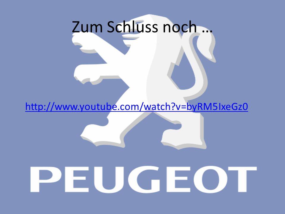 Zum Schluss noch … http://www.youtube.com/watch v=byRM5IxeGz0