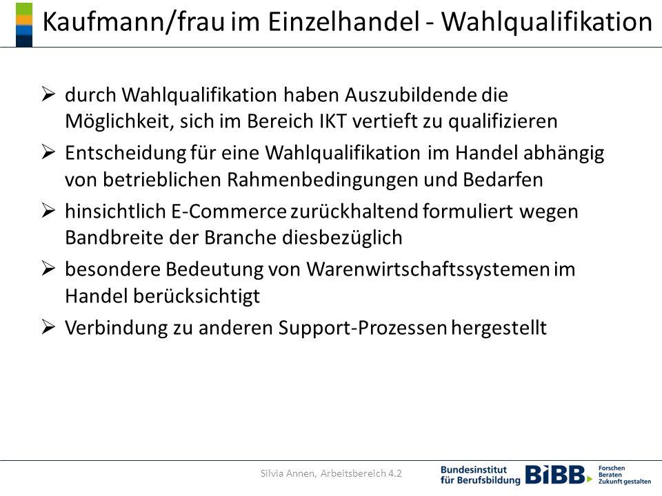 Kaufmann/frau im Einzelhandel - Wahlqualifikation