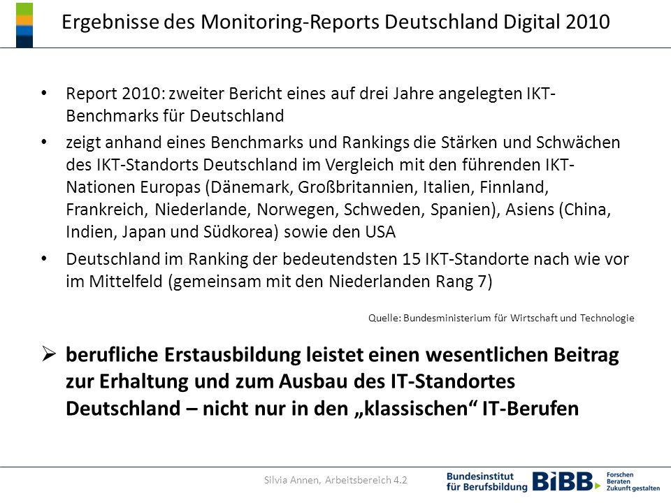 Ergebnisse des Monitoring-Reports Deutschland Digital 2010